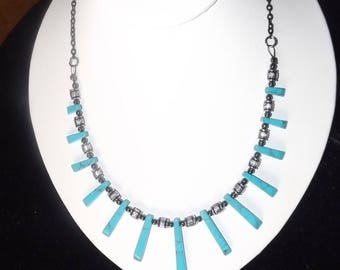 Turquoise Accented Necklace