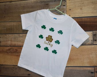 Girls Toddler Lucky T Shirt