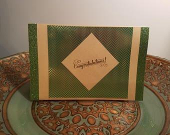 Congratulations, Reynolds Graham Design, Atlanta, Congratulations Card, Handmade Card, Unique Cards, A9
