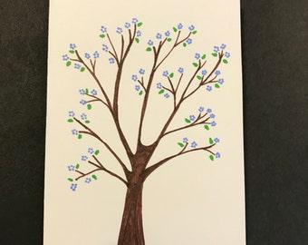 Spring Blooms Tree