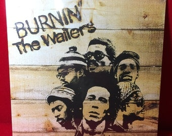 Bob Marley and The Wailers: BURNIN LP (180 Gram Vinyl) ~ NEW/sealed Reggae Record