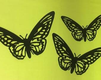 Black Butterfly Wall Decor