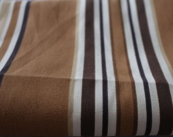 5 Upholstery Fabric Brown Stripe 5