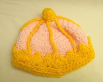 baby woolen crown for your little queen
