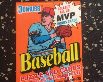 1990 Baseball Trading Card Pack by Donruss