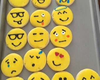 Emotional themed Cookies