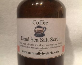 Coffee Dead Sea Salt Scrub