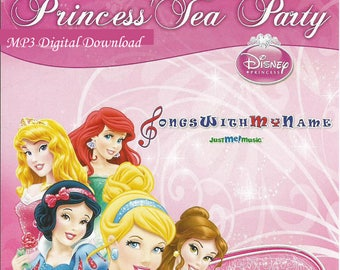 Disney's Princess Tea Party Children's Personalized Music - MP3 Digital Content Only