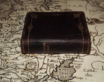 French and Latin Missal 1886 - Paroissien Romain - Illustrated Prayer Book