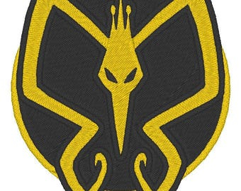 Venture Bros. Monarch embroidered patch
