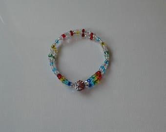 Rainbow chakra bracelets