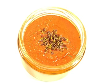 Raw Lavender Sugar Scrub!
