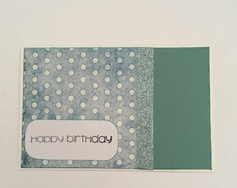 Handmade Card - Happy Birthday (HB3)