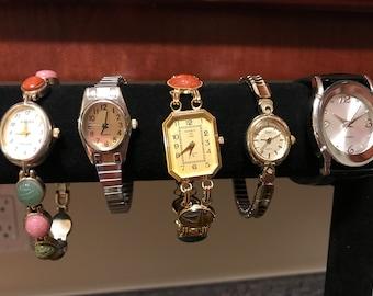 5 Costume Jewelry Ladies Watches