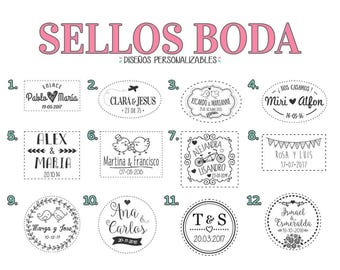 Stamp for weddings