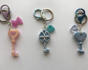 Custom resin keychain