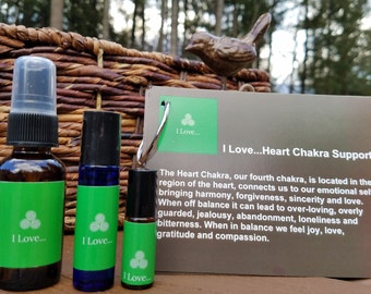 I Love... Heart Chakra Essential Oil Blend