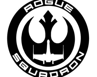 Rogue Squadron Decal