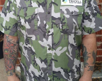 TRI CELL HUNTER button up