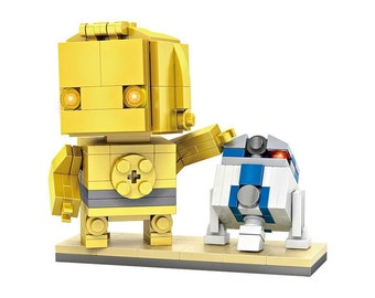 Loz Mini Blocks Star Wars C3-PO and R2-D2 Figure