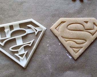 Superman Cookie Cutter - 3D Printed