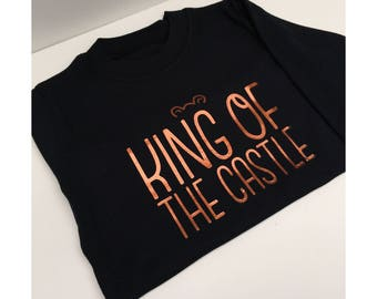 King of the Castle Childrens Tee