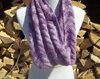Soft Berry Cowl and Shrug ** large cowl, handmade cowl, crochet cowl, crochet shrug