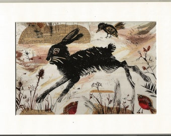 Leaping Hare Edition Print