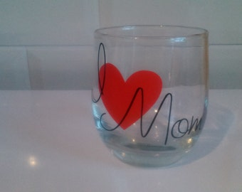 mothers day glass