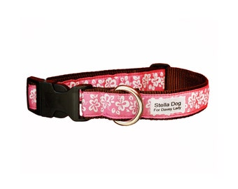 Pink Hawaii Collar *FREE SHIPPING*