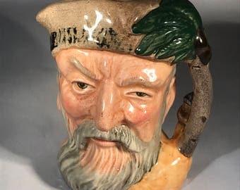 Royal Doulton Robinson Crusoe Toby Mug 1959