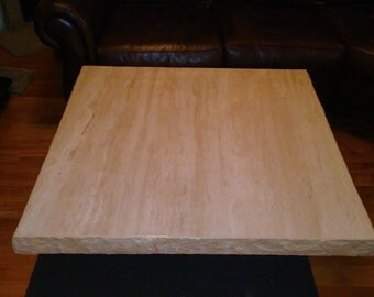 Italian Made Travertine Coffee Table