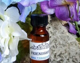 Friendship Oil - Hoodoo, Voodoo, Wicca, Pagan