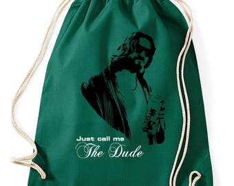 The Big Lebowski the dude gym bags
