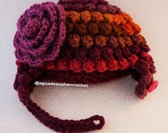 Bonnet of Crochet for doll Blythe