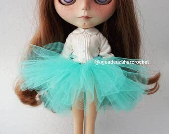 Tutu or skirt of dress for Blythe or doll various colors available