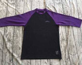 BAPE A Bathing Ape x FELICITY Collaboration Sz XL Made In Japan Raglan Long Sleeve T-Shirts