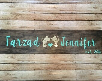 custom disney inspired wood name signs