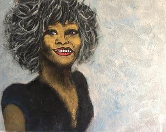 And I ...  Original Pop Art Painting By Anahita Modarresi