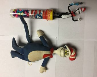 1970 Dr Seuss Cat in the Hat Plush Doll