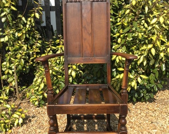Ercol Oak Elbow Chair