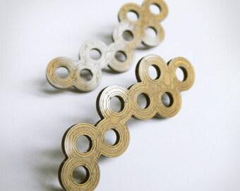 Small circles earrings