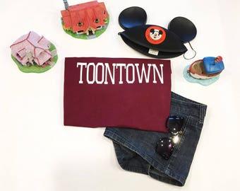 Toontown Disneyland WDW T-shirt