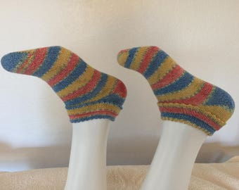 Women's Low Double Picot Hem Summer Socks