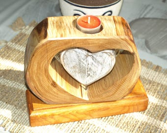 Table candle holder, desk, centerpiece tealight