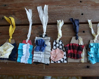 gift tags made from recycled materials