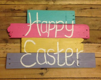 Easter Wall Hanging (Reclaimed Pallet Wood)