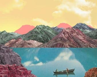 Row | Printable Collage Art
