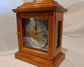 Wooden handmade Carriage clock
