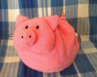 Pig tea cosy